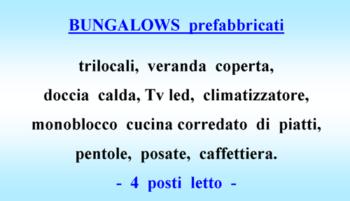 bungalow prefabbricati - 2018